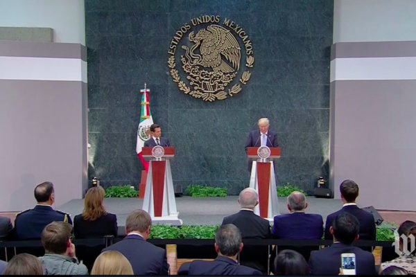 Jorge Ramos: Peña Nieto was meek with Trump. Latino voters in the U.S. won't be.