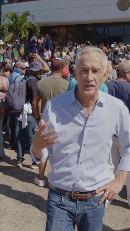 Real America With Jorge Ramos: Families & Refugees Risk It All On Migrant Caravan